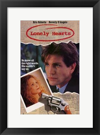 Framed Lonely Hearts Eric Roberts Print