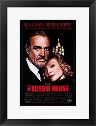 Framed Russia House Print