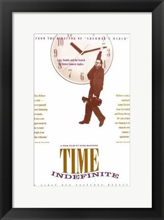 Framed Time Indefinite Print