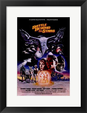 Framed Battle Beyond the Stars Print