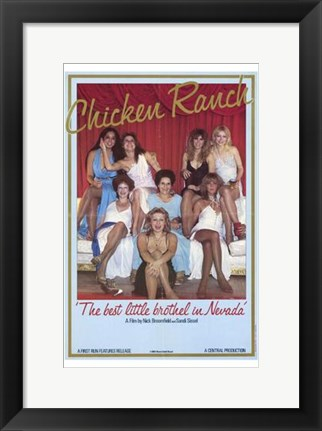 Framed Chicken Ranch Print