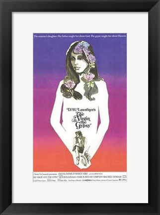 Framed Virgin and the Gypsy Print