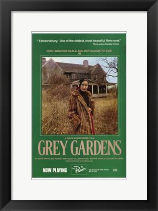 Framed Grey Gardens Print