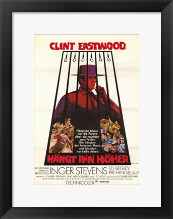 Framed Hang Em High Print