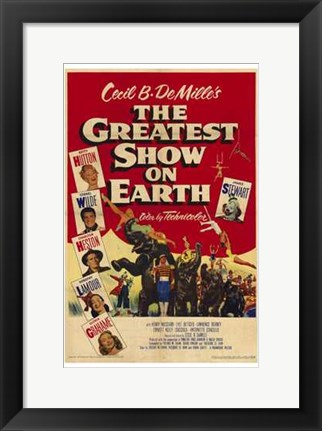 Framed Greatest Show on Earth Print