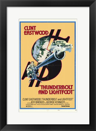 Framed Thunderbolt and Lightfoot Print
