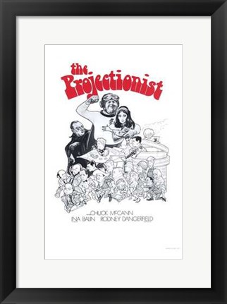 Framed Projectionist Print