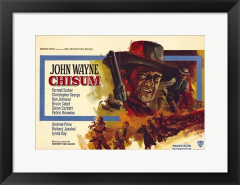 Framed Chisum French Print