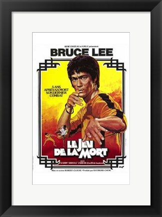 Framed Game of Death French Print