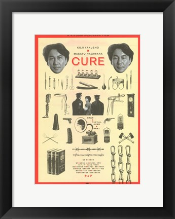 Framed Cure Print
