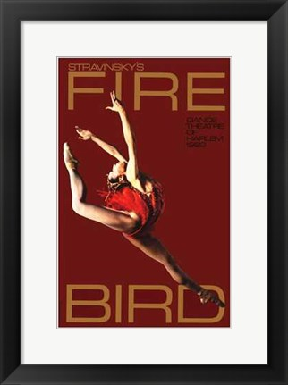 Framed Firebird (Broadway Musical) Print
