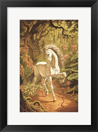 Framed Unicorn Print