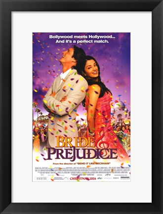 Framed Bride and Prejudice Print