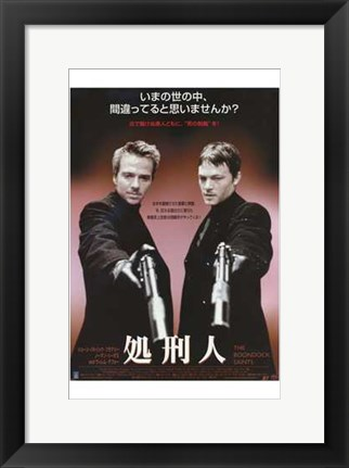 Framed Boondock Saints - style A (Japanese) Print