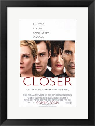 Framed Closer Print