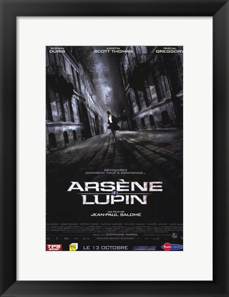 Framed Arsene Lupin Print