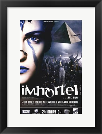 Framed Immortal (Ad Vitam) French Print