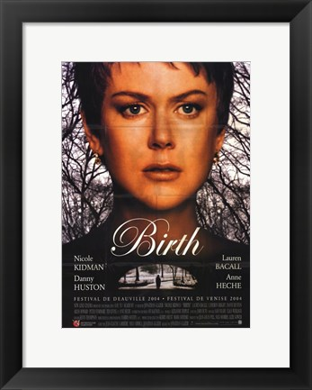 Framed Birth Print