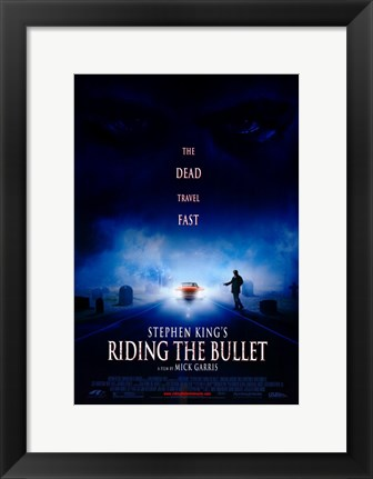 Framed Riding the Bullet Print