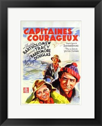 Framed Captains Courageous Print