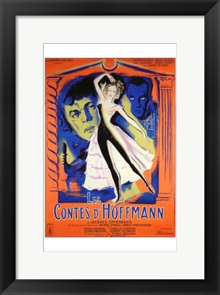 Framed Tales of Hoffmann Print