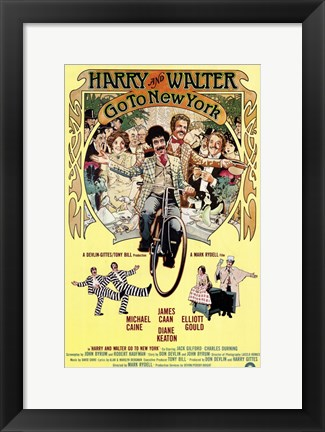 Framed Harry and Walter Go to New York Print