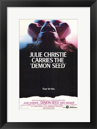 Framed Demon Seed Print
