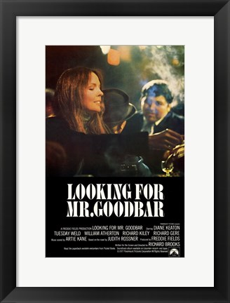 Framed Looking for Mr Goodbar Print
