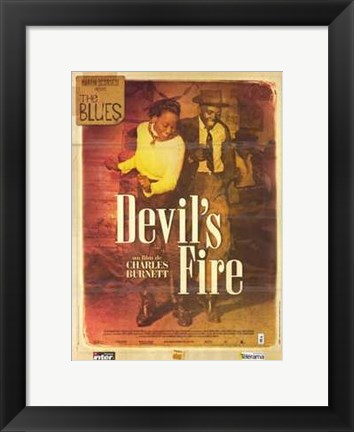 Framed Blues  the (Mini-Series) - Devil's Fire Print