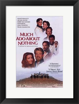 Framed Much Ado About Nothing Print