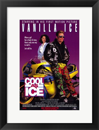 Framed Cool as Ice Print