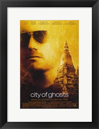 Framed City of Ghosts Print