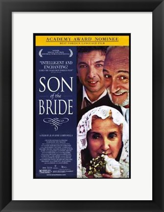 Framed Son of the Bride Print