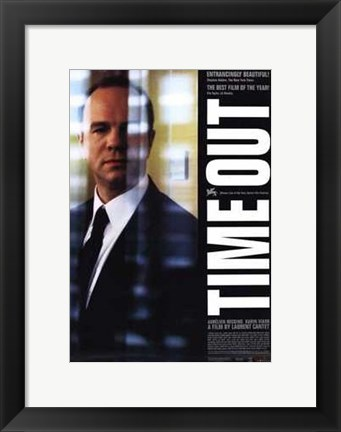 Framed Time Out Print