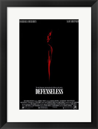 Framed Defenseless Print