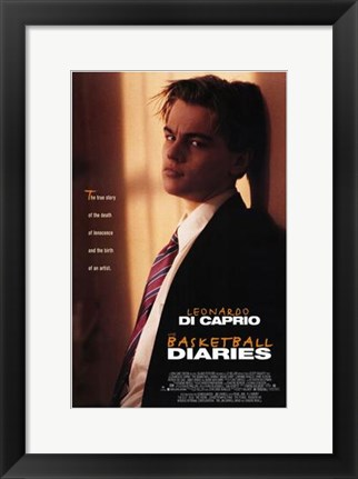 Framed Basketball Diaries Print