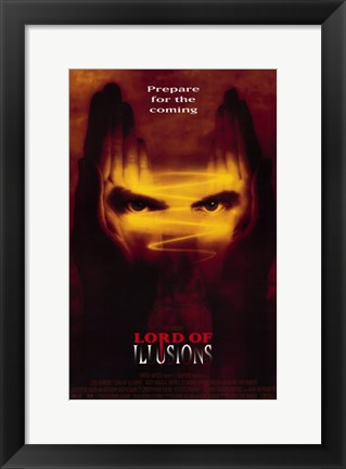 Framed Lord of Illusions Print