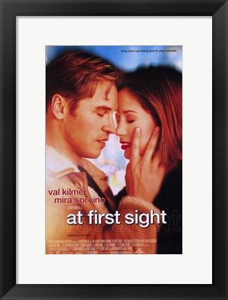 Framed At First Sight Print