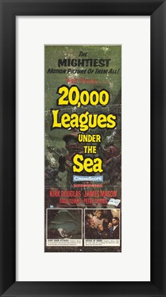 Framed 20 000 Leagues Under the Sea Mightiest Picture Print
