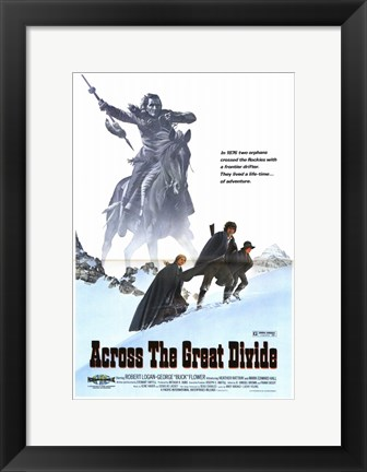 Framed Across the Great Divide Print