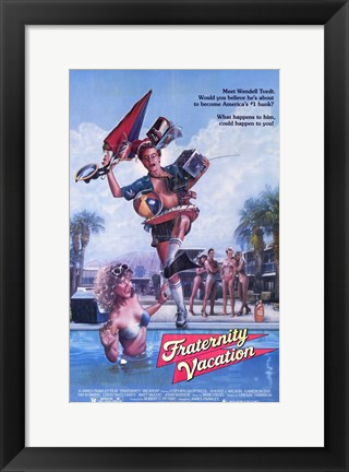 Framed Fraternity Vacation Print