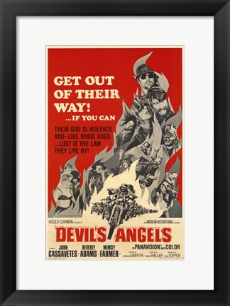 Framed Devil's Angels Print