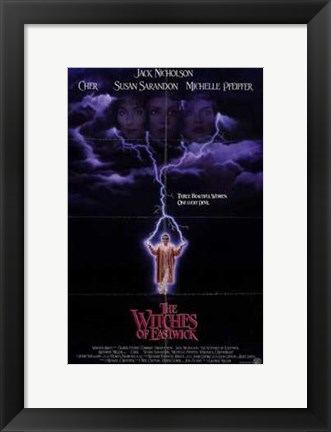 Framed Witches of Eastwick Print
