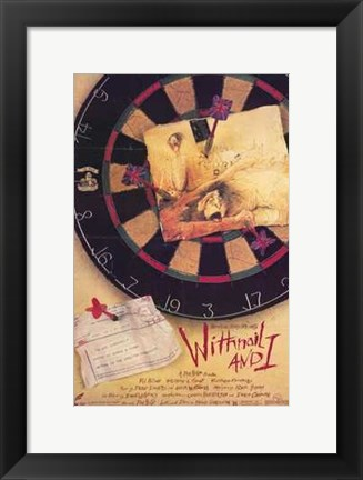 Framed Withnail and I Print