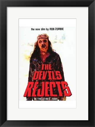 Framed Devil's Rejects Rob Zombie Print