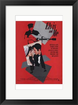 Framed Elvis and Me Print