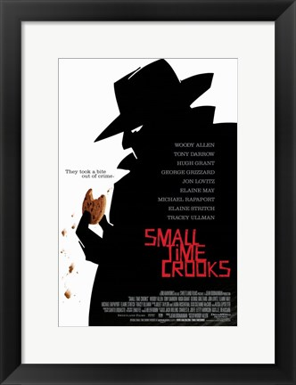 Framed Small Time Crooks Print