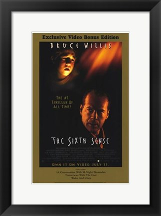 Framed Sixth Sense Print