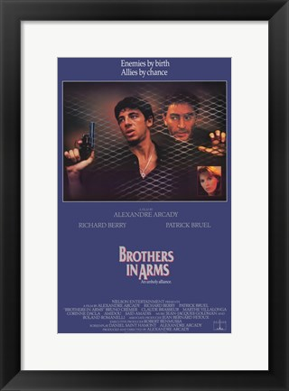 Framed Brothers in Arms Print