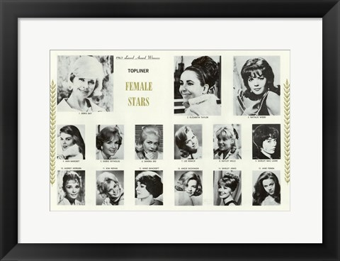 Framed International Laurel Awards Print